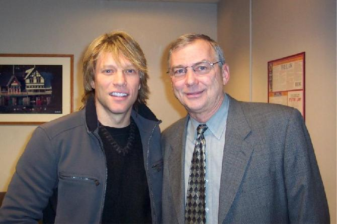 Jon Bon Jovi and Buck Dopp